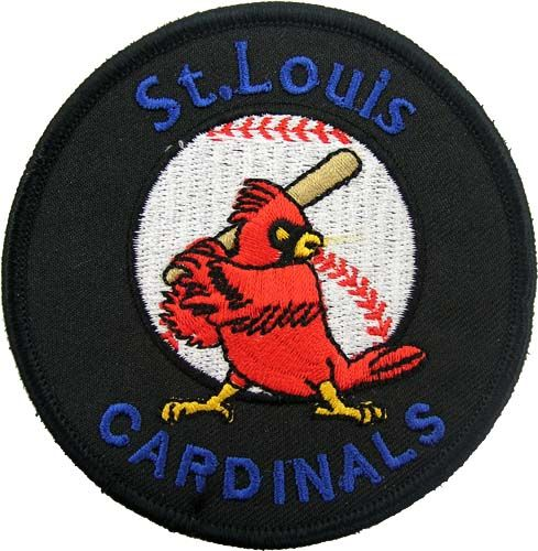 ST LOUIS CARDINALS MLB BASEBALL EMBROIDERED PATCH #02
