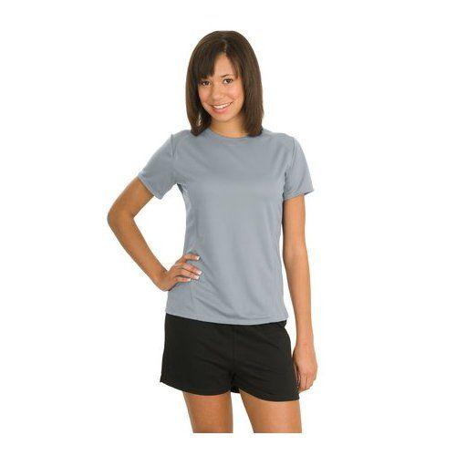Sport Tek Ladies Dry Zone; Raglan Accent T Shirt. L473