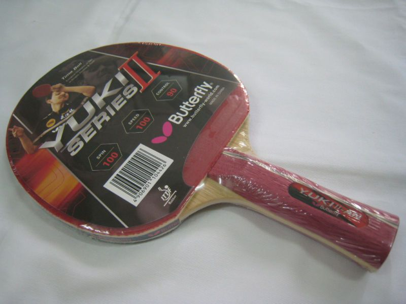 Butterfly Yuki II_AN Series Table Tennis Blade/Paddle