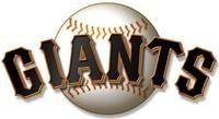 Nail Decals Set of 20   San Francisco Giants Baseball